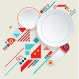 Aztec ram för modern vektor för materiell design Royaltyfri Foto