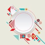 Aztec ram för modern vektor för materiell design Royaltyfria Foton