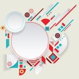 Aztec ram för modern vektor för materiell design Royaltyfri Fotografi
