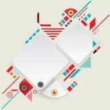 Aztec ram för modern vektor för materiell design Royaltyfria Bilder