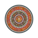Aztec round motif Stock Photos