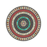 Aztec round motif Royalty Free Stock Images