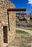 Aztec Ruins. The Aztec Ruins Nat. Monument at Aztec. It was a settlement of the Anasazi during the Pueblo Culture. The original natives lived there from 1100 royalty free stock images