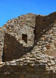 Aztec Ruins. Anasazi ruins at the Aztec National Monument in Aztec, New Mexico stock photos
