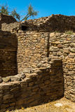 Aztec Ruins National Monument in New Mexico. Amazing scenes from Aztec Ruins in New Mexico Stock Image