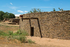 Aztec Ruins National Monument in New Mexico Stock Image