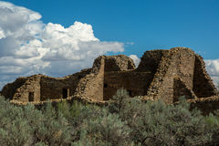 Aztec Ruins National Monument in New Mexico Stock Photos