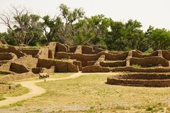 Aztec Ruins National Monument Royalty Free Stock Photos