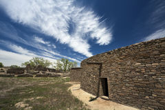 Aztec Ruins in New Mexico Stock Images
