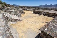 Aztec ruins of Yagul. The Aztec ruins of Yagul Oaxaca Mexico stock image