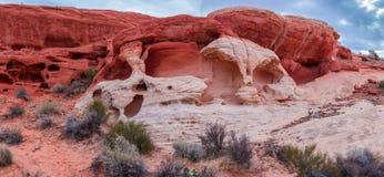 Aztec Sandstone Stock Photography