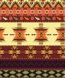 Aztec seamless modell Royaltyfri Fotografi