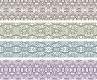 Aztec seamless pattern Royalty Free Stock Image