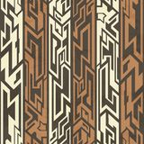 Aztec seamless pattern Stock Image