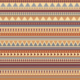 Aztec seamless pattern ancient colors Royalty Free Stock Photos