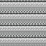 Aztec seamless pattern in  Stock Photo