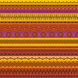Aztec seamless pattern. Stock Photos