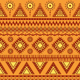 Aztec seamless pattern. Royalty Free Stock Photography