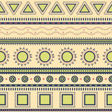 Aztec seamless pattern. Royalty Free Stock Image