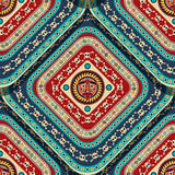 Aztec Seamless Pattern Stock Images