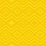 Aztec seamless pattern. Vector seamless pattern with aztec ancient mexic ornament Stock Photo
