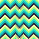 Aztec seamless pattern Royalty Free Stock Photography