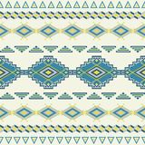 Aztec seamless pattern. Royalty Free Stock Photos