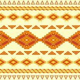 Aztec seamless pattern. Royalty Free Stock Images