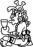 aztec skårapersonstil vektor illustrationer