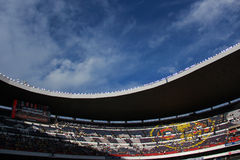 Aztec stadion Royaltyfri Fotografi