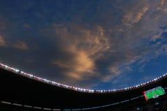 Aztec stadion Fotografering för Bildbyråer