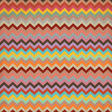 Aztec stripe pattern in pastel tints Royalty Free Stock Photography