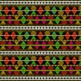Aztec Style Pattern Stock Image