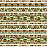 Aztec Style Pattern Royalty Free Stock Image