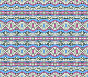 Aztec Style Pattern in Pastel Colors Royalty Free Stock Images
