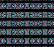 Aztec Style Pattern Stock Images