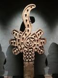 Aztec symbol av educatoin Arkivfoton