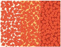 Aztec texture Stock Image