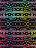 Aztec tribal mexican pattern Royalty Free Stock Image