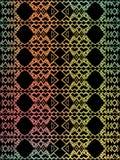 Aztec tribal mexican pattern Stock Photos