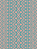 Aztec tribal mexican seamless pattern Royalty Free Stock Images