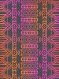 Aztec tribal mexican seamless pattern Stock Image