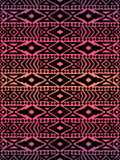 Aztec tribal mexican seamless pattern Royalty Free Stock Photography