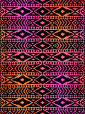 Aztec tribal mexican seamless pattern Royalty Free Stock Photos