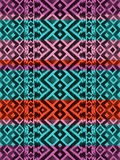 Aztec tribal mexican seamless pattern Stock Images