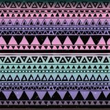 Aztec Tribal Seamless Pattern Royalty Free Stock Image