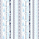 Aztec vector seamless pattern. Modern ornamental background. Geometrical Ethnic print for textile and wallpaper design. Aztec vector seamless pattern. Modern Stock Image