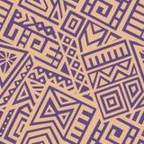 Aztec Vector Seamless Pattern Royalty Free Stock Photo