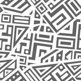 Aztec Vector Seamless Pattern Royalty Free Stock Photography