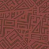 Aztec Vector Seamless Pattern Stock Photo